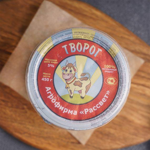 Творог 5% 450 грамм в СПб