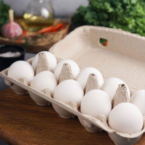 Десяток куриных яиц в СПб